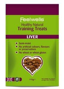 Feelwell's, Natural, Liver Training Treats - Treats - Xtra Dog
