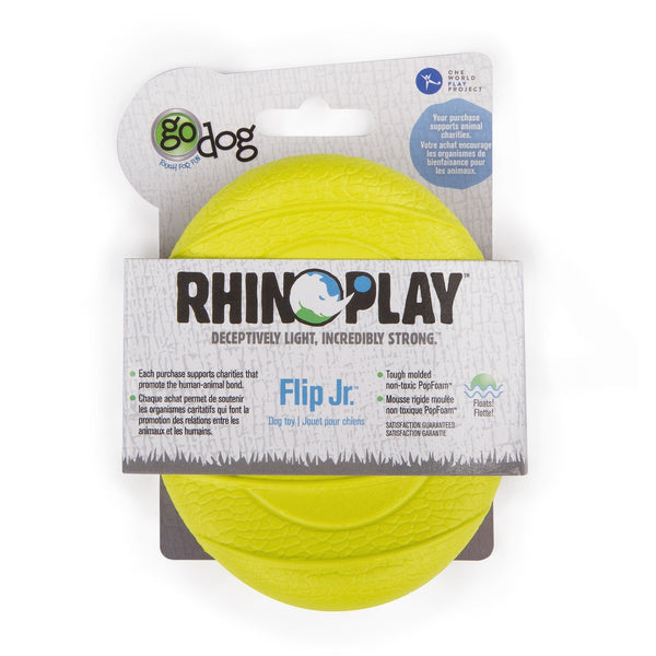 goDog RhinoPlay Flip - Retrieve Toys - Xtra Dog