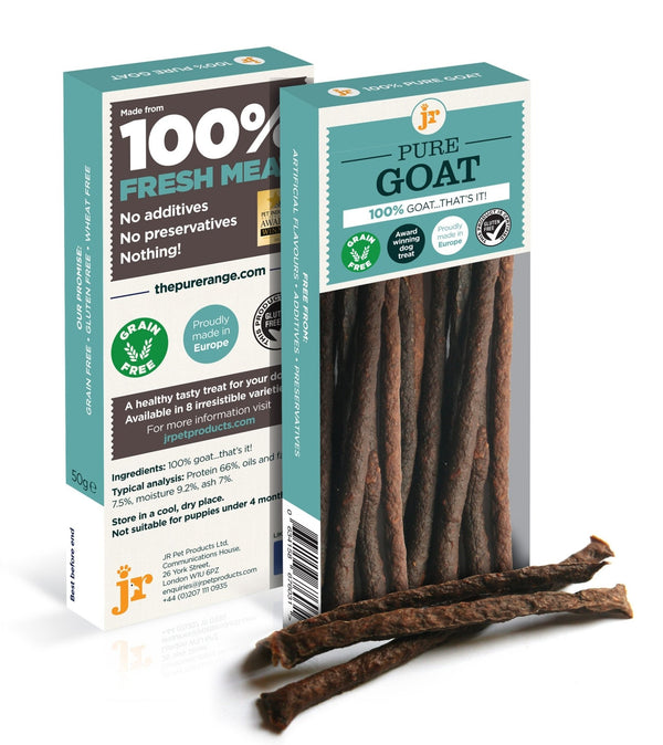 JR Pure Goat Sticks, 50g - Treats - Xtra Dog