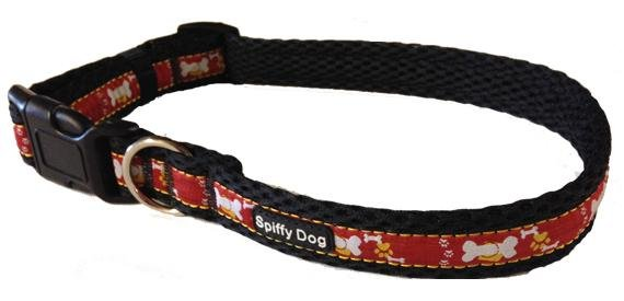 Spiffy Dog, Crimson Pride - Collars - Xtra Dog