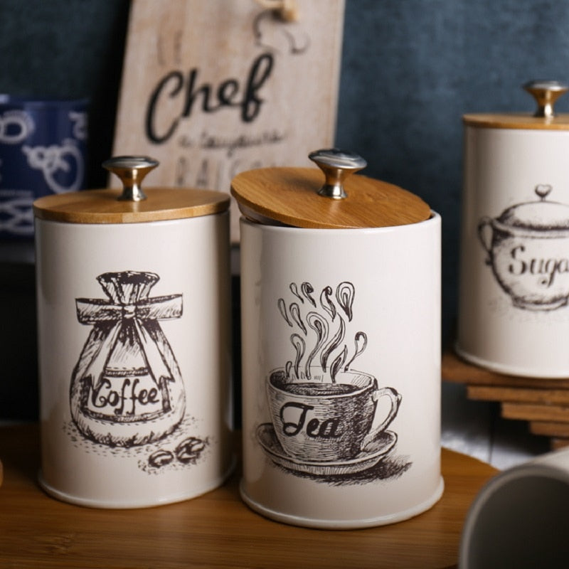 Food Storage Canisters