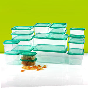 34-piece Set Microwavable Food Containers