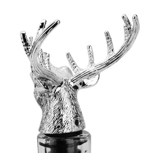 Deer Head Red Wine Pourer/Aerator Zinc Alloy Creative Personality Bar Tool