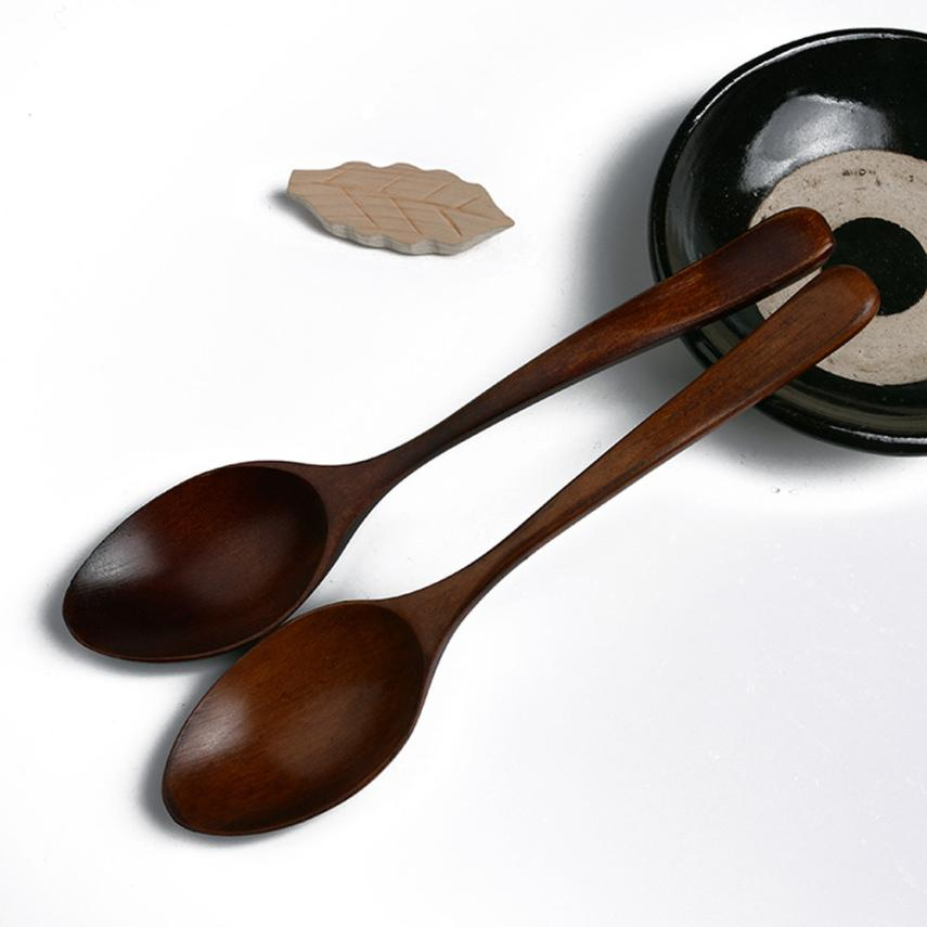 Wooden Soup Spoon