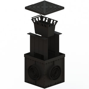 12 X 12 Catch Basin Cast Iron Grate
