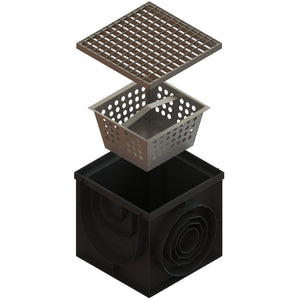 16x16 Catch Basin Galvanized Grate