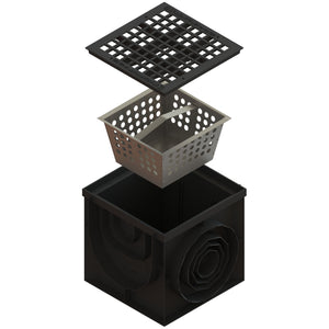 16x16 Catch Basin Cast Iron Grate