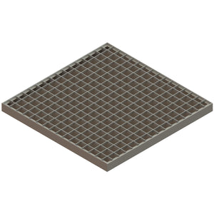 22x22 Catch Basin Galvanized Grate