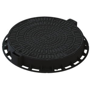 Manhole Cover Round (Black)