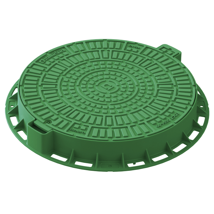 Manhole Cover Round (Green)