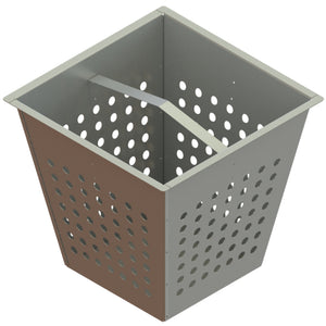 22x22 Debris Basket Galvanized Steel