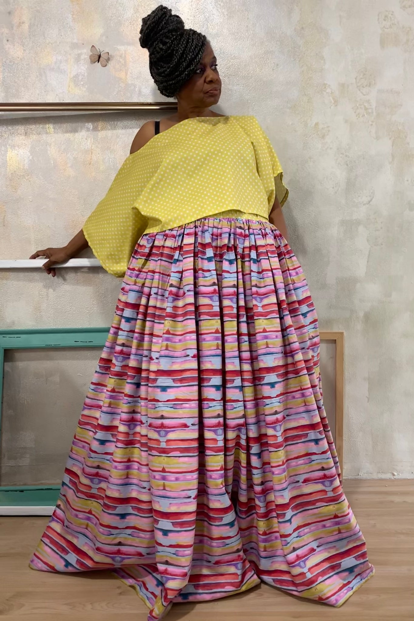 The Amazing Technicolor Dream Skirt