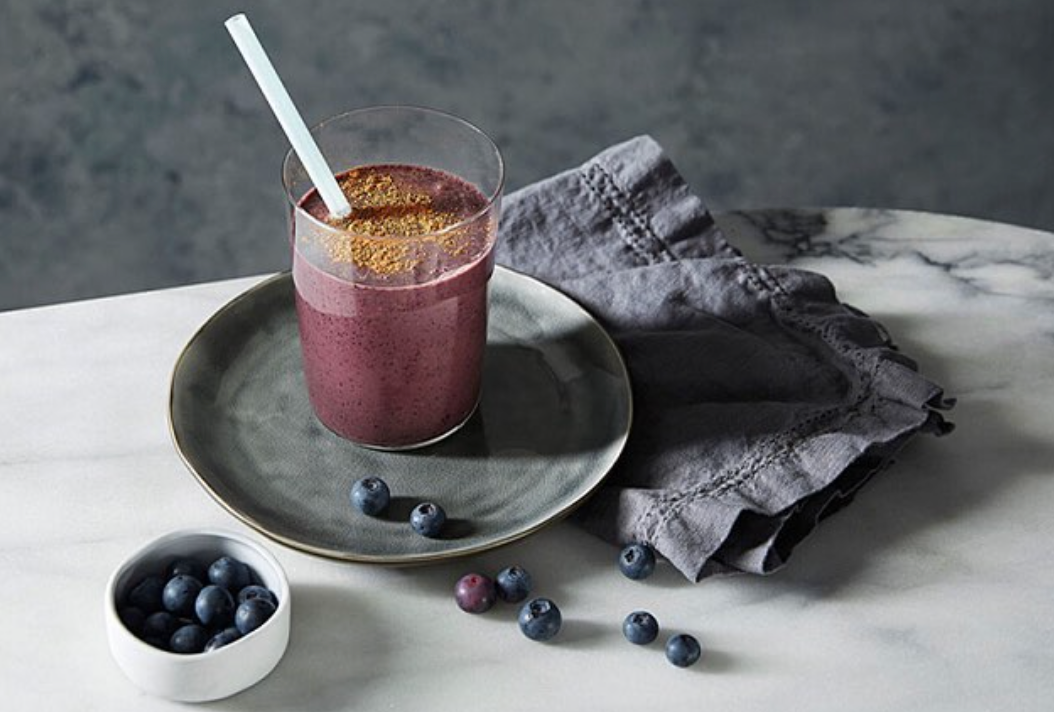 Choc Blueberry Breakfast Smoothie