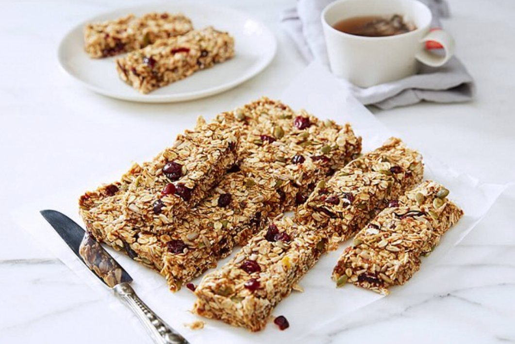 Cranberry Orange Oat Bars