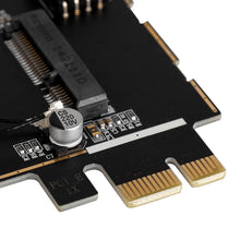Load image into Gallery viewer, Half Size PCI-e to Desktop PCI-e Adapter Card