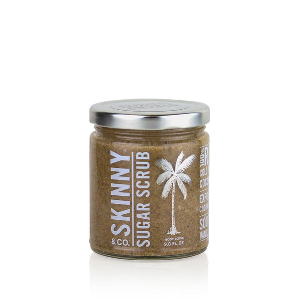 Body Scrub Jar | Coconut Sugar + Vanilla