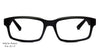 John Jacobs Black Eyeglasses 101202