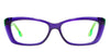 John Jacobs Blue Eyeglasses 101181