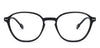 John Jacobs Black Eyeglasses 136326