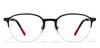 John Jacobs Red Eyeglasses 118045