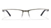 Lenskart Matte Gunmetal Black Rectangle Eyeglasses - 100092