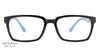 John Jacobs Blue Eyeglasses 102857