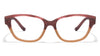John Jacobs Red Eyeglasses 113181