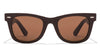 John Jacobs Brown Sunglasses 113331