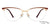 John Jacobs Golden Eyeglasses 130529 - Lenskart