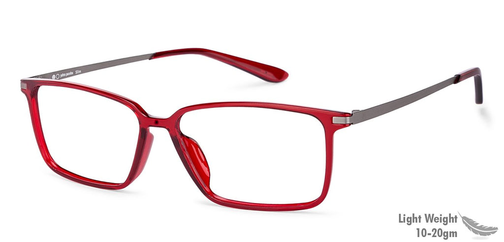 Eyeglasses For Women-Rectangle-Maroon-EG