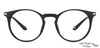 John Jacobs Black Eyeglasses 130560