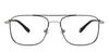 John Jacobs Black Eyeglasses 130563