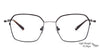 John Jacobs Black Eyeglasses 130573