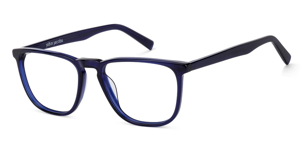 Eyeglasses For Men-Wayfarer-Blue-EG