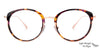 John Jacobs Golden Eyeglasses 132784