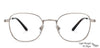 John Jacobs Grey Eyeglasses 136088