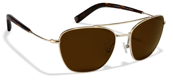 John Jacobs Golden Sunglasses 122314