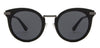 Black Grey Full Rim Cat Eye John Jacobs JJ Tints JJ S10799-C1