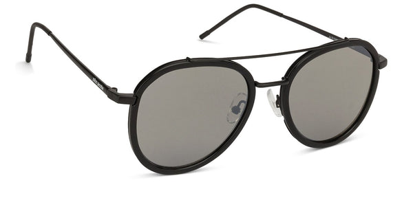 John Jacobs Black Sunglasses 124402