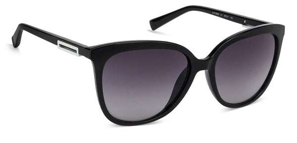 JJ Black Cat Eye Sunglasses - 125125