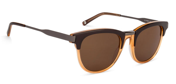 John Jacobs Brown Sunglasses 125908