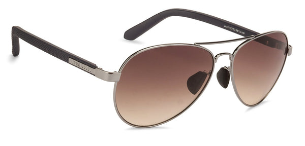 John Jacobs Gunmetal Sunglasses 127318