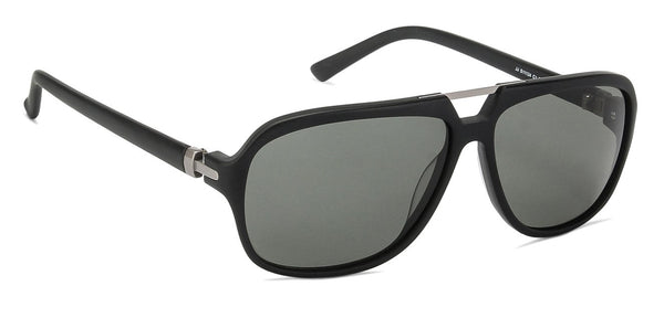John Jacobs Power Black Sunglasses 127324