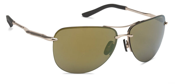 Gold Black Gold Mirror Half Rim Aviator Shape John Jacobs OnlineTINTS JJ S11227-C2