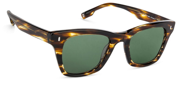 John Jacobs Power Tortoise Sunglasses 129992