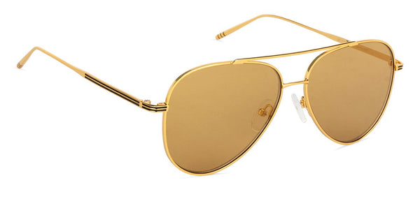 Gold Mirror Full Rim Aviator John JacobsTints JJ S11472-C6