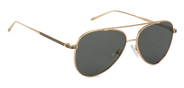 John Jacobs Golden Sunglasses 130513