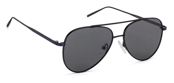 John Jacobs Black Sunglasses 130514