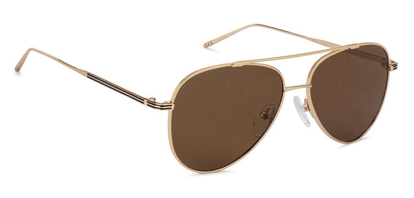 John Jacobs Power Golden Sunglasses 130515