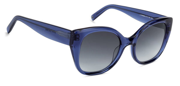 JJ Blue Transparent Cat Eye Sunglasses - 130760